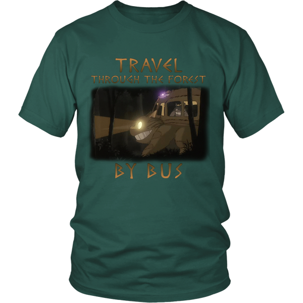 Travel Through The Forest By Bus T Shirts, Tees & Hoodies - Totoro Shirts - TeeAmazing - 2
