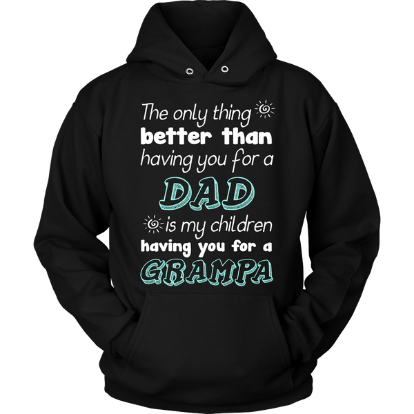 My Children Having You For A Grampa T Shirts, Tees & Hoodies - Grandpa Shirts - TeeAmazing - 7