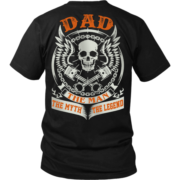 DAD The Man The Myth The Legend T Shirts, Tees & Hoodies - Dad Shirts - TeeAmazing - 1