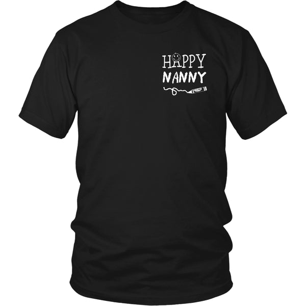 Happiness is Being Nanny T-Shirt - Nanny Shirt - TeeAmazing - 11