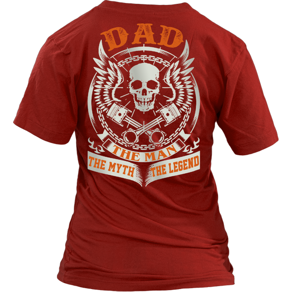DAD The Man The Myth The Legend T Shirts, Tees & Hoodies - Dad Shirts - TeeAmazing - 12