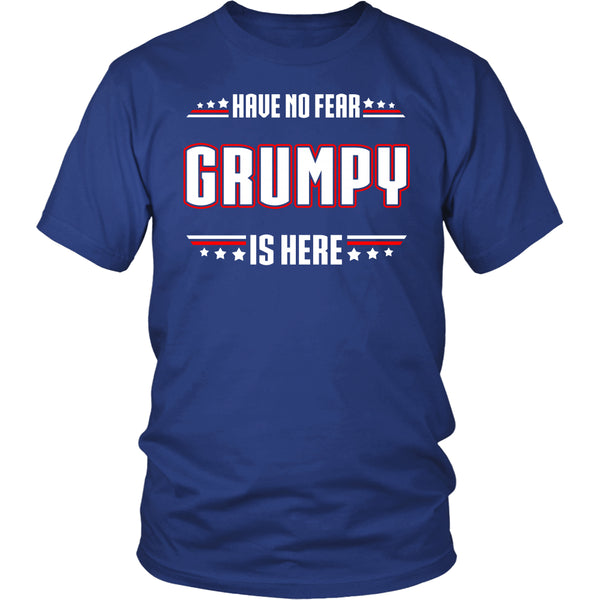 Have No Fear Grumpy Is Here T-Shirt - Grumpy Shirt - TeeAmazing - 2