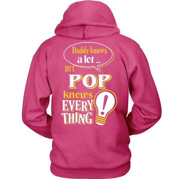 Pop Knows More T-Shirt -  Pop Shirt - TeeAmazing - 16