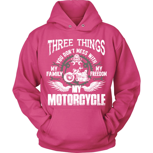 Three Things...My Motorcycle T-Shirt - Motorcycle Shirt - TeeAmazing - 2