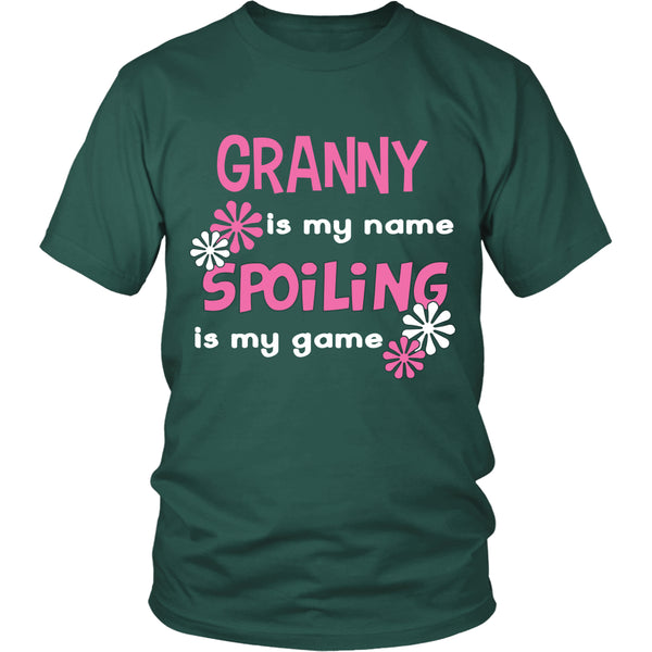 Granny Is My Name... T-Shirt - Granny Shirt - TeeAmazing - 3