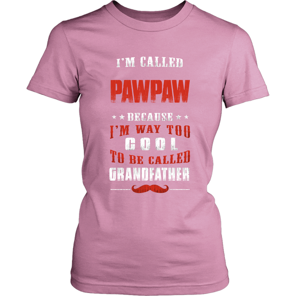 Pawpaw Way Too Cool Grandfather T-Shirt - Pawpaw Shirt - TeeAmazing - 11