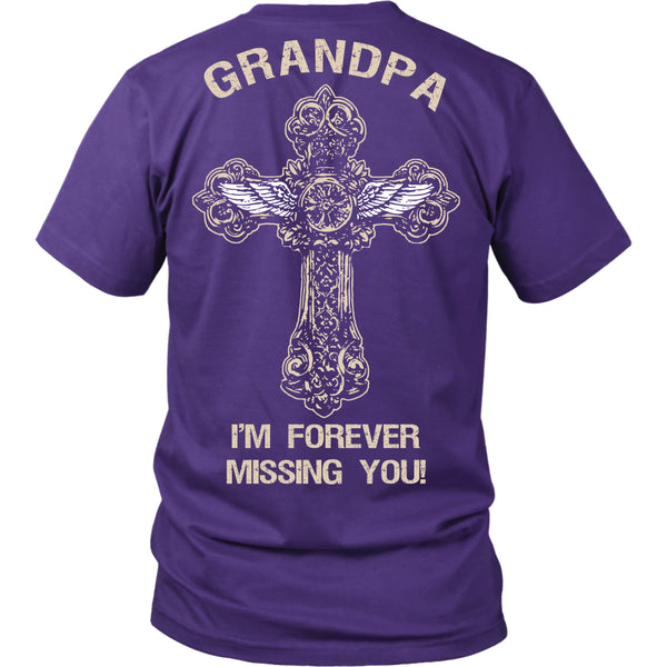 I'm Forever Missing You! Grandpa T-Shirt - Family Shirt - TeeAmazing - 2