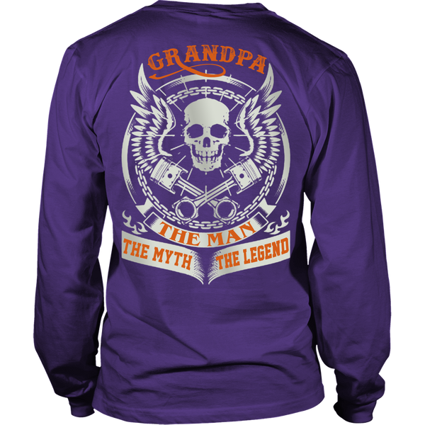 Grandpa The Man The Myth The Legend T Shirts, Tees & Hoodies - Grandpa Shirts - TeeAmazing - 5