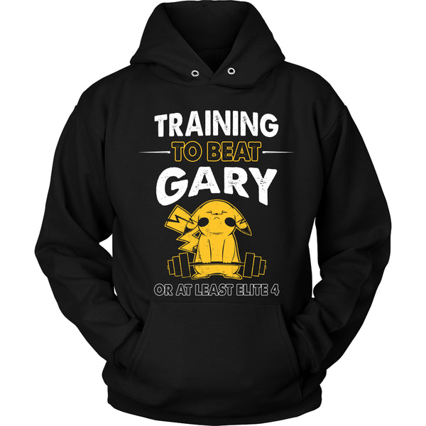 Training To Beat GARY T Shirts, Tees & Hoodies -  Pokemon Shirts - TeeAmazing - 1