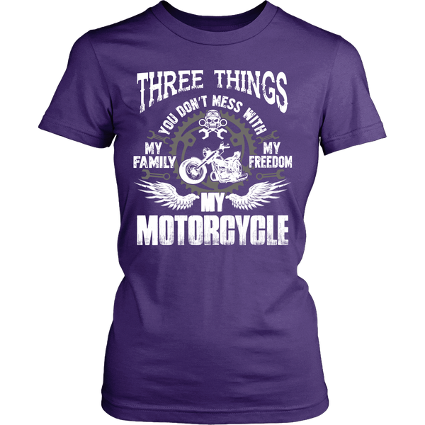 Three Things...My Motorcycle T-Shirt - Motorcycle Shirt - TeeAmazing - 10