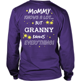 Granny Knows Everything T-Shirt -  Granny Shirt - TeeAmazing