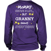 Granny Knows Everything T-Shirt -  Granny Shirt - TeeAmazing - 12