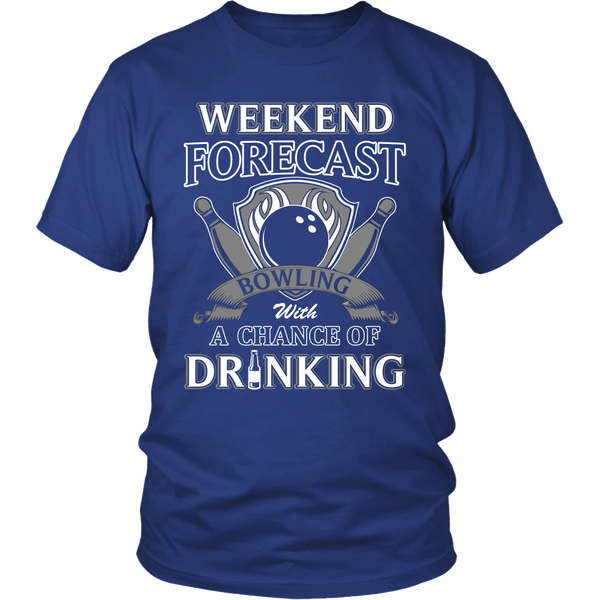 Bowling with Drinking T Shirts, Tees & Hoodies - Bowling Shirts - TeeAmazing - 1