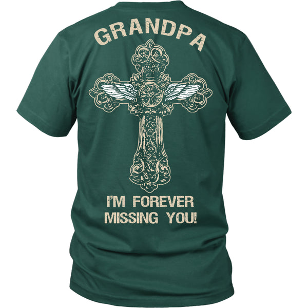 I'm Forever Missing You! Grandpa T-Shirt - Family Shirt - TeeAmazing - 3
