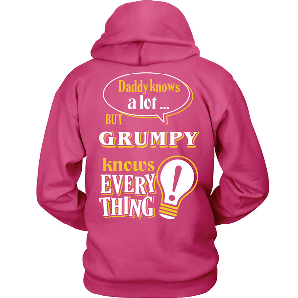 Grumpy Knows More T-Shirt -  Grumpy Shirt - TeeAmazing - 16