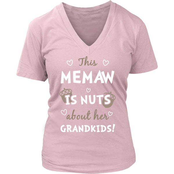 This Memaw is Nuts About Her Grandkids T-Shirt - Memaw Shirt - TeeAmazing - 12
