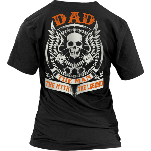DAD The Man The Myth The Legend T Shirts, Tees & Hoodies - Dad Shirts - TeeAmazing - 13