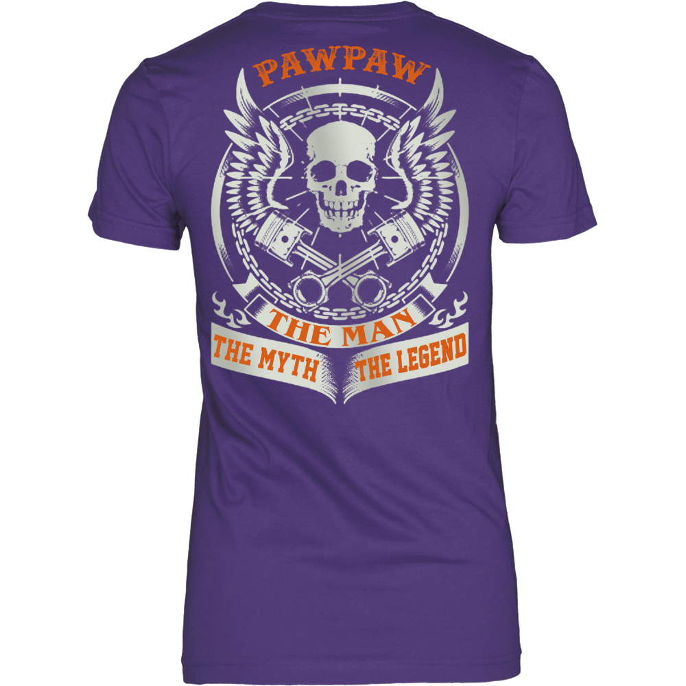 Pawpaw The Man The Myth The Legend T Shirts, Tees & Hoodies - Grandpa Shirts - TeeAmazing