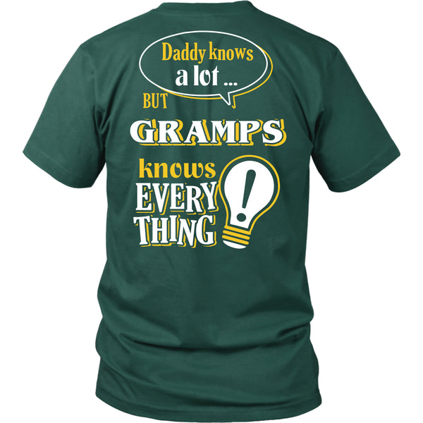 Gramps Knows More T-Shirt -  Gramps Shirt - TeeAmazing - 6