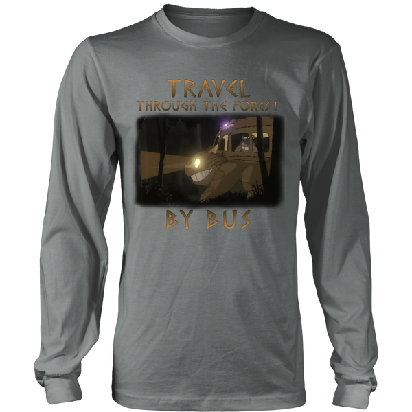 Travel Through The Forest By Bus T Shirts, Tees & Hoodies - Totoro Shirts - TeeAmazing - 6