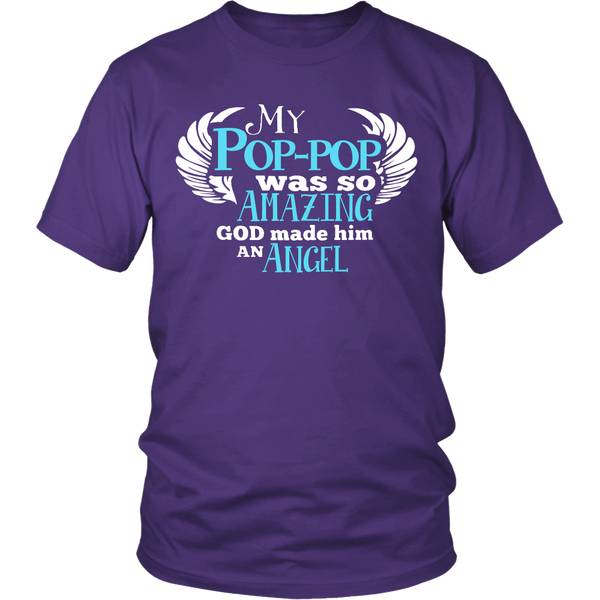 My Pop-pop Was So Amazing T Shirts, Tees & Hoodies - Grandpa Shirts - TeeAmazing - 2