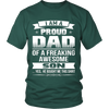 I Am A Proud Dad, Son T Shirts, Tees & Hoodies - Dad Shirts - TeeAmazing - 5