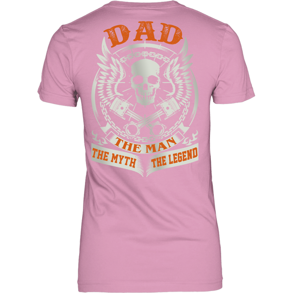 DAD The Man The Myth The Legend T Shirts, Tees & Hoodies - Dad Shirts - TeeAmazing - 11