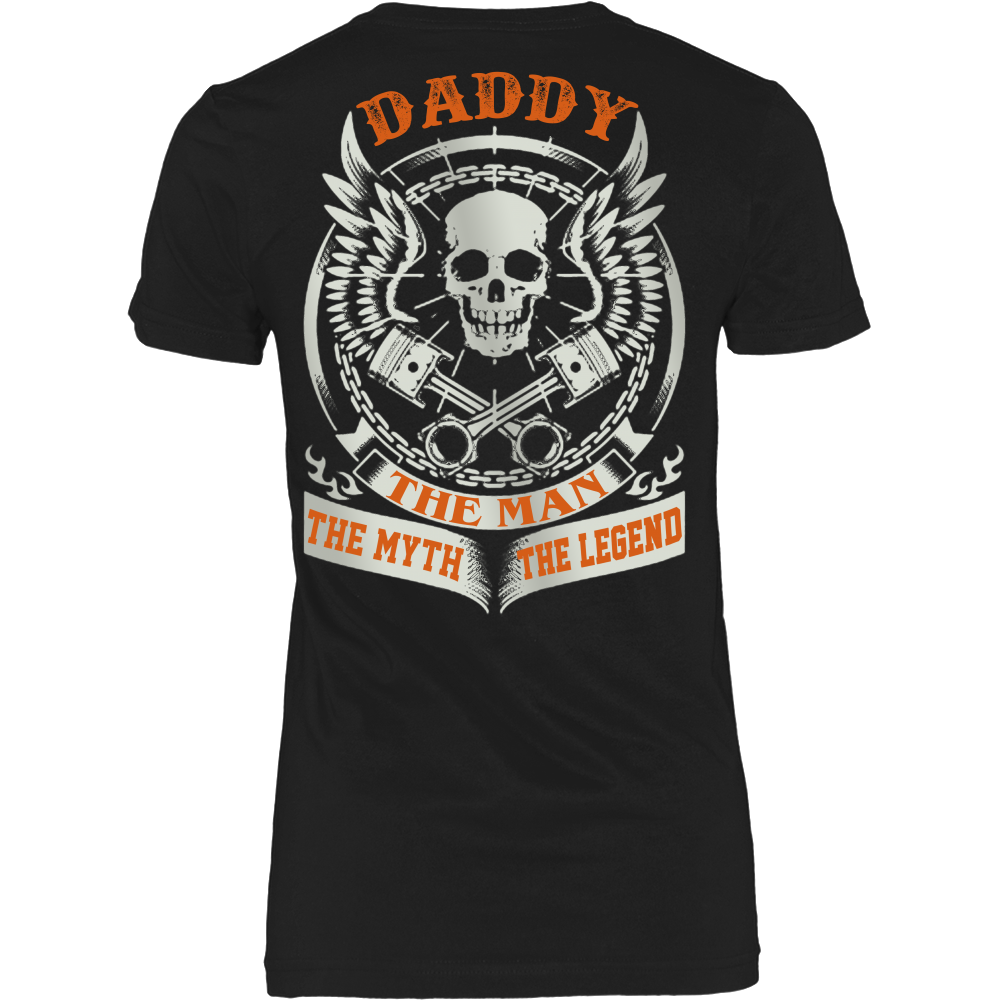 DADDY The Man The Myth The Legend T Shirts, Tees & Hoodies - Dad Shirts - TeeAmazing