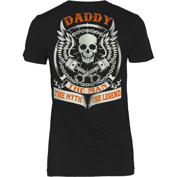 DADDY The Man The Myth The Legend T Shirts, Tees & Hoodies - Dad Shirts - TeeAmazing - 9