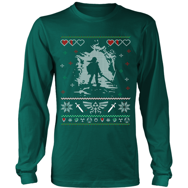 Zelda Ugly Sweater T-Shirt - Zelda Shirt - TeeAmazing