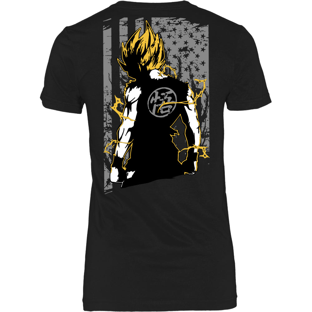 Goku US T-Shirt - Dragon Ball Shirt - TeeAmazing