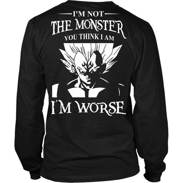I'm Not The Monster You Think I Am T Shirts, Tees & Hoodies - Dragonball Shirts - TeeAmazing - 6