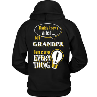 Grandpa Knows More T-Shirt -  Grandpa Shirt - TeeAmazing