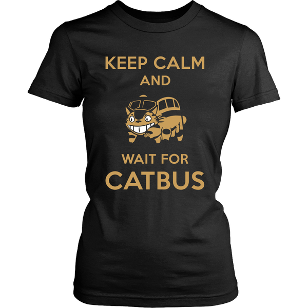 Keep Calm Catbus T Shirts, Tees & Hoodies - Totoro Shirts - TeeAmazing - 9