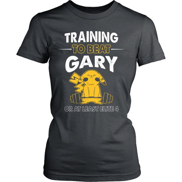 Training To Beat GARY T Shirts, Tees & Hoodies -  Pokemon Shirts - TeeAmazing - 11