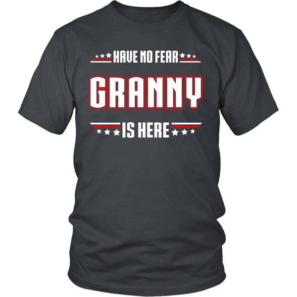Have No Fear Granny Is Here T-Shirt - Granny Shirt - TeeAmazing - 4