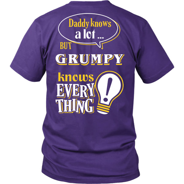 Grumpy Knows More T-Shirt -  Grumpy Shirt - TeeAmazing - 4