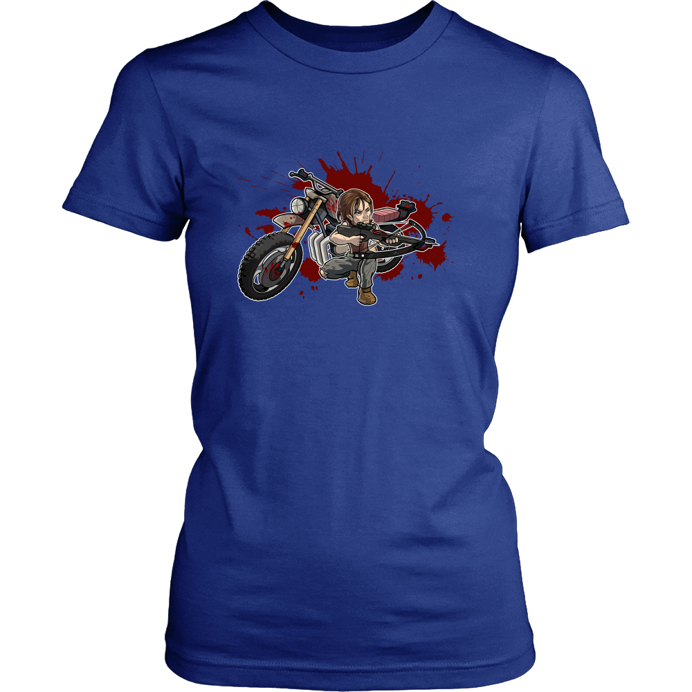 Daryl Toons T-Shirt, Tees & Hoodies - Walking Dead Shirt - TeeAmazing