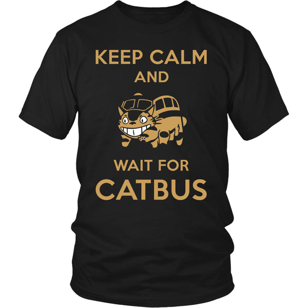 Keep Calm Catbus T Shirts, Tees & Hoodies - Totoro Shirts - TeeAmazing - 2