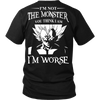 I'm Not The Monster You Think I Am T Shirts, Tees & Hoodies - Dragonball Shirts - TeeAmazing - 1