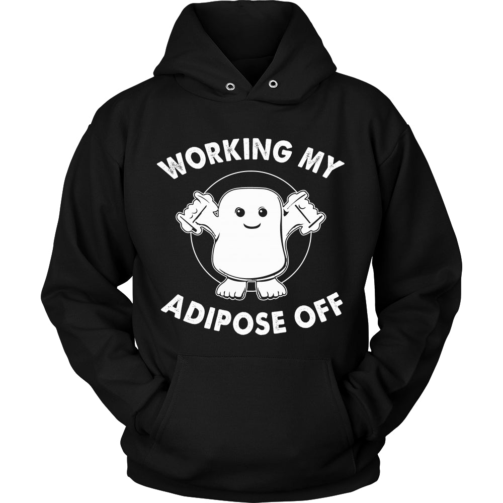Working My Adipose Off T Shirts, Tees & Hoodies - Doctor Who Shirts - TeeAmazing
