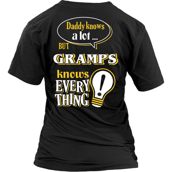 Gramps Knows More T-Shirt -  Gramps Shirt - TeeAmazing - 26