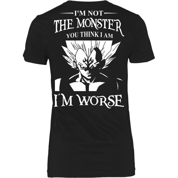 I'm Not The Monster You Think I Am T Shirts, Tees & Hoodies - Dragonball Shirts - TeeAmazing - 9