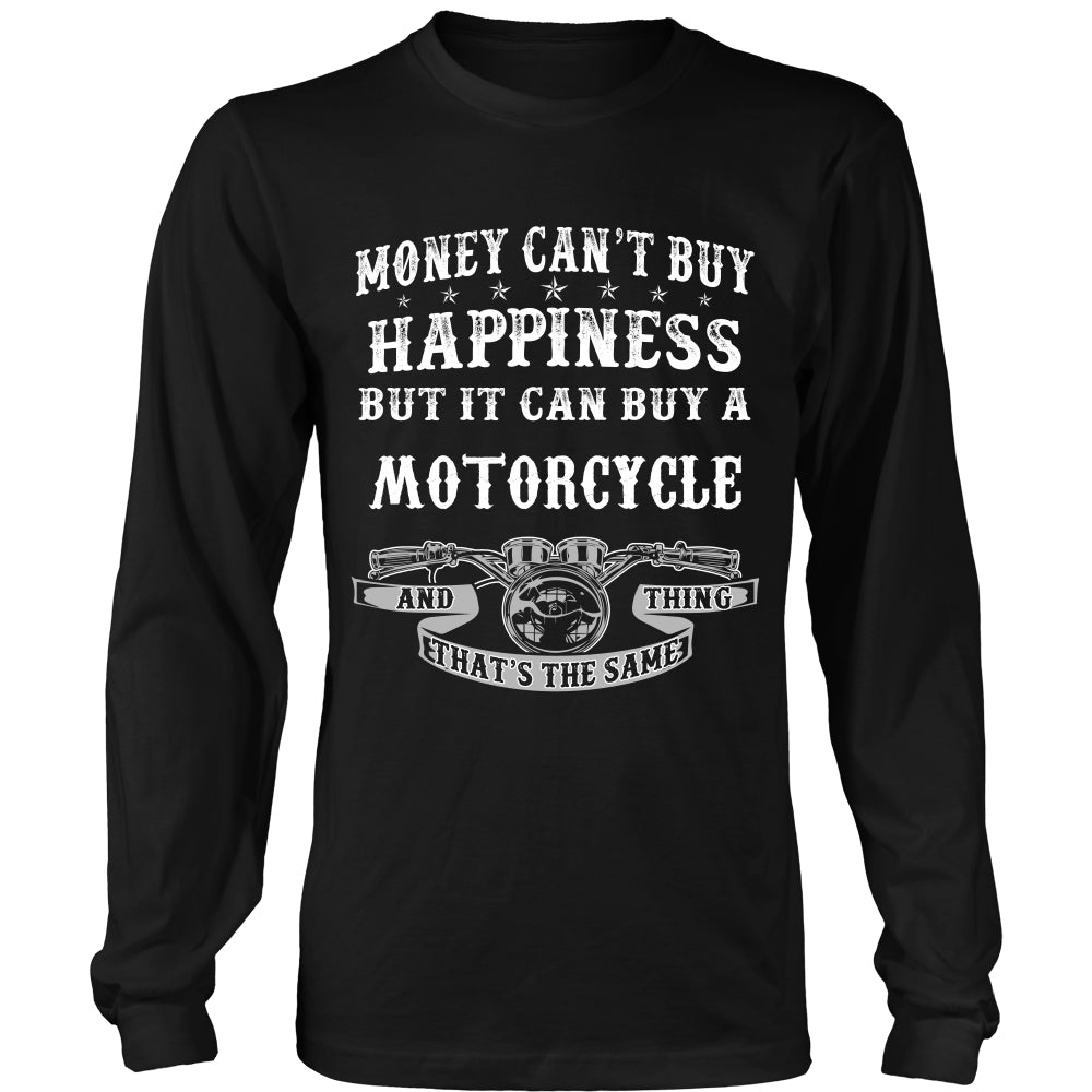Happiness and Motorcycle That The Same Thing T-Shirt - Motorcycle Shirt DT5200