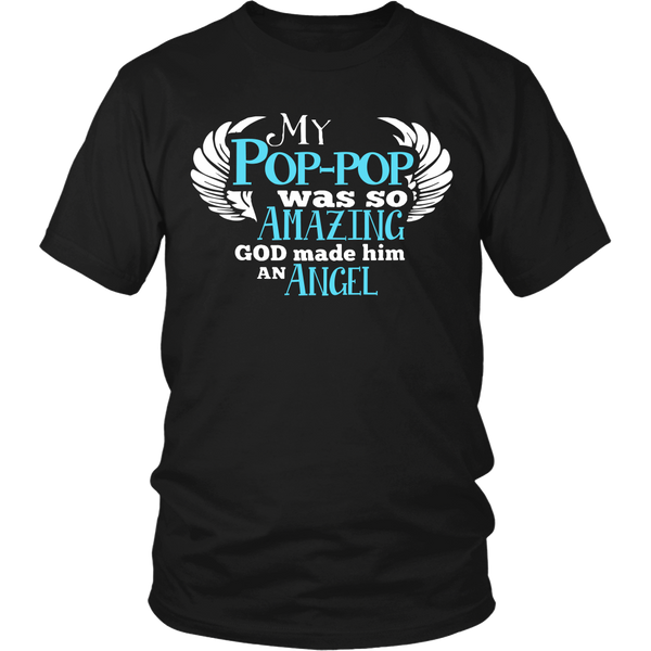 My Pop-pop Was So Amazing T Shirts, Tees & Hoodies - Grandpa Shirts - TeeAmazing - 1