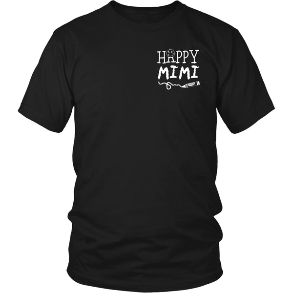 Happiness is Being MiMi T-Shirt - MiMi Shirt - TeeAmazing - 11