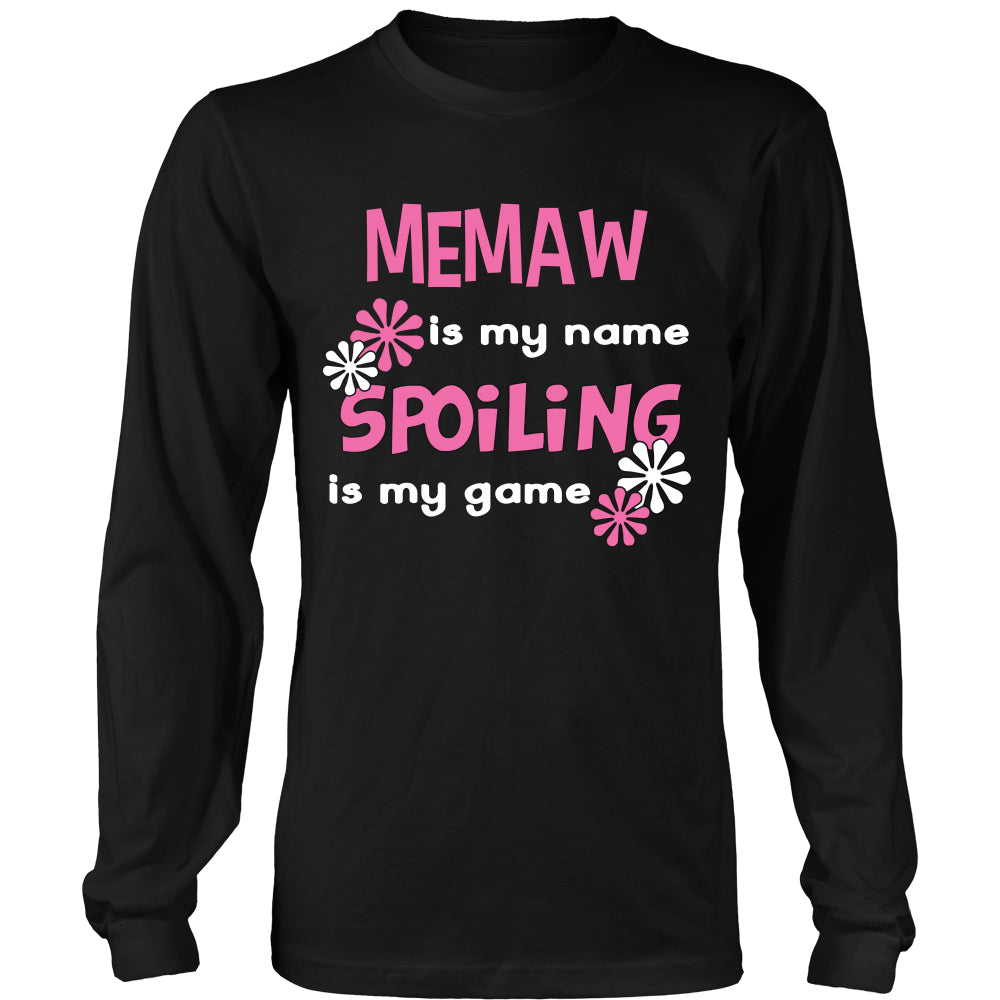 Memaw Is My Name... T-Shirt - Memaw Shirt - TeeAmazing