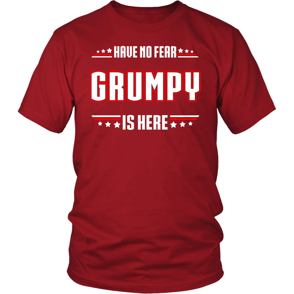 Have No Fear Grumpy Is Here T-Shirt - Grumpy Shirt - TeeAmazing - 3