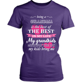 Being a Grandma Is The Best T-Shirt - Grandma Shirt - TeeAmazing