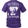 I'm Not The Monster You Think I Am T Shirts, Tees & Hoodies - Dragonball Shirts - TeeAmazing - 3